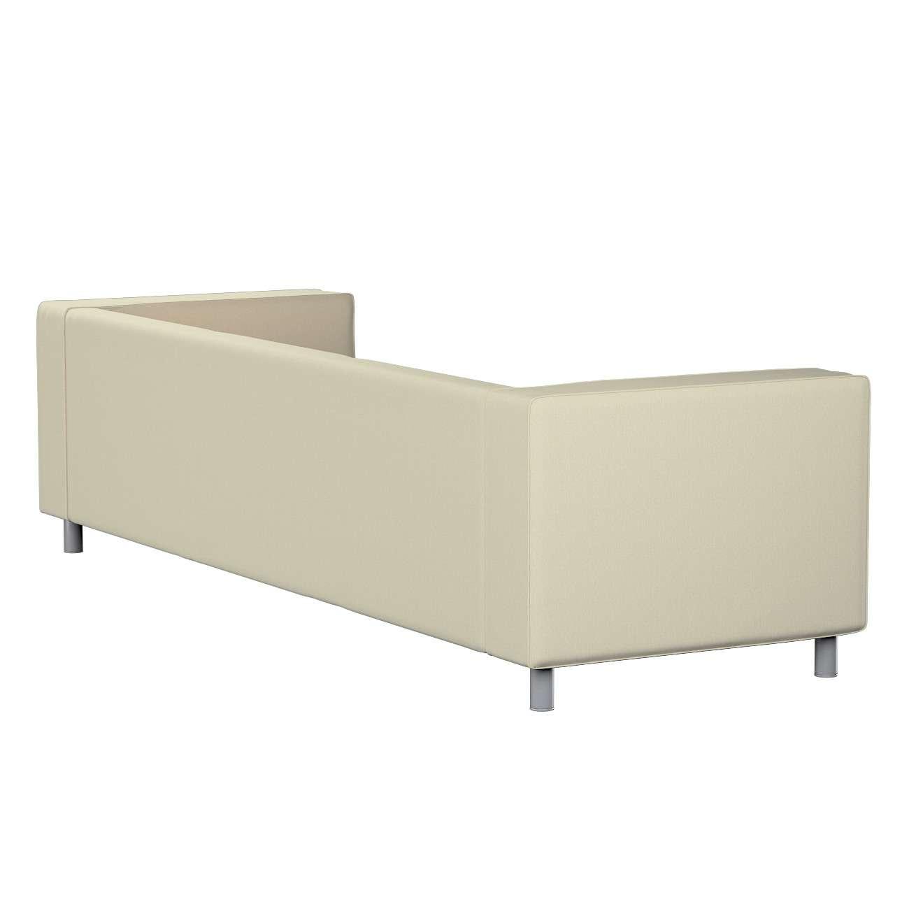 Pokrowiec na sofę Klippan 4-osobową w kolekcji Chenille, tkanina: 702-22