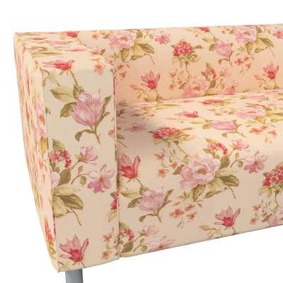 Pokrowiec na sofę Klippan 4-osobową w kolekcji Londres, tkanina: 123-05