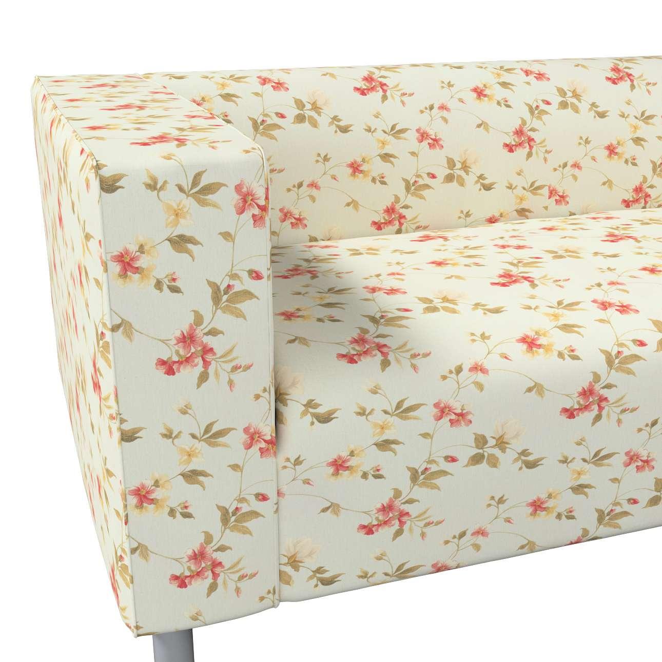 Pokrowiec na sofę Klippan 4-osobową w kolekcji Londres, tkanina: 124-65