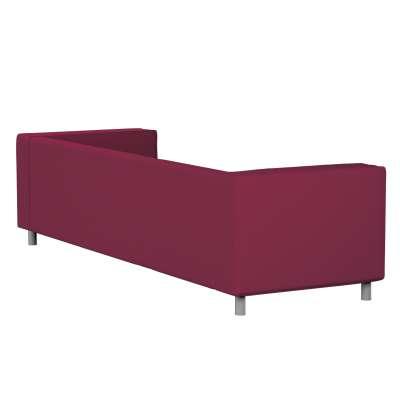 Pokrowiec na sofę Klippan 4-osobową w kolekcji Cotton Panama, tkanina: 702-32