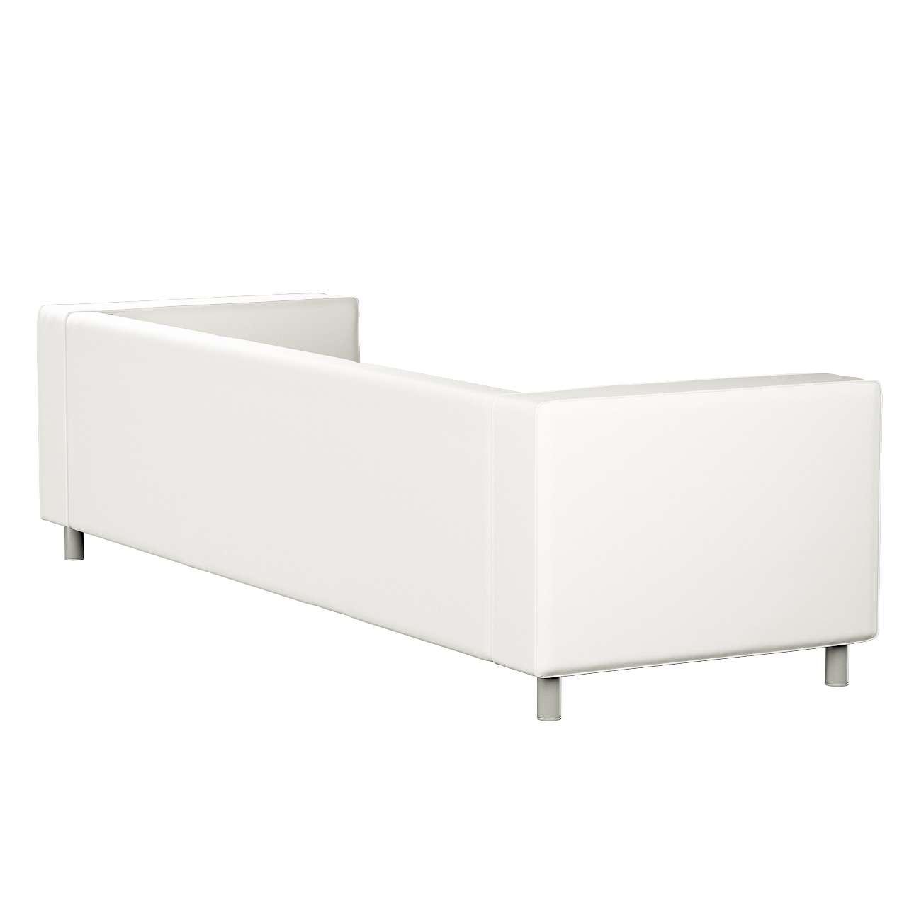 Pokrowiec na sofę Klippan 4-osobową w kolekcji Cotton Panama, tkanina: 702-34