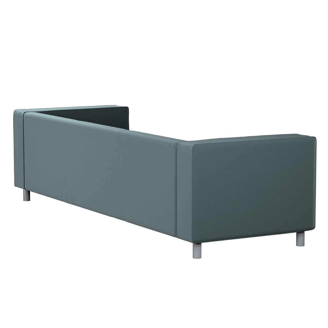 Pokrowiec na sofę Klippan 4-osobową w kolekcji Ingrid, tkanina: 705-36