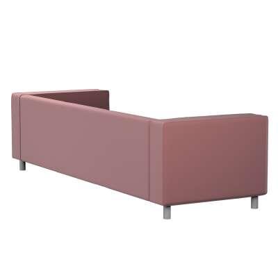 Pokrowiec na sofę Klippan 4-osobową 705-38 jasna śliwka - welwet Kolekcja Ingrid