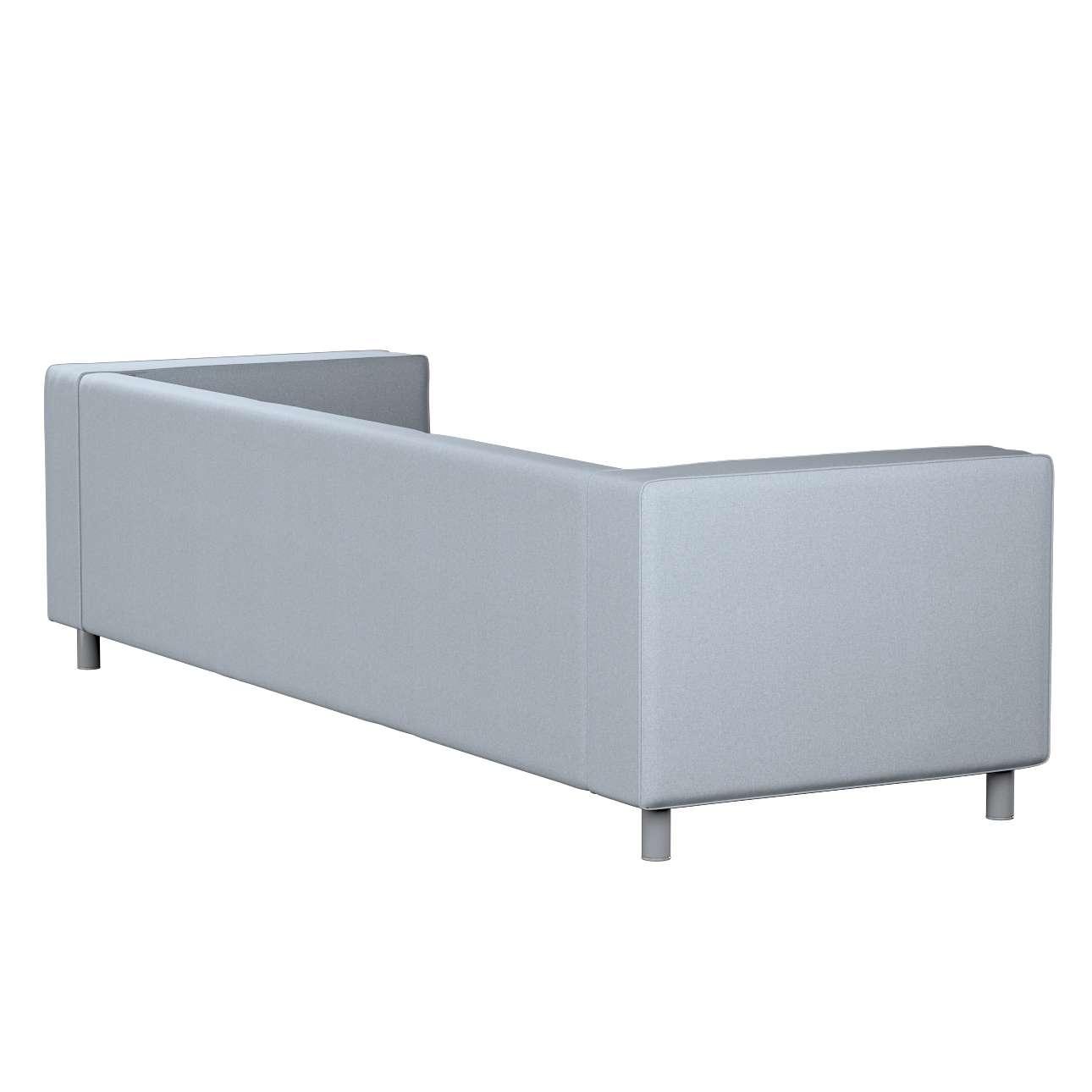 Pokrowiec na sofę Klippan 4-osobową w kolekcji Amsterdam, tkanina: 704-46