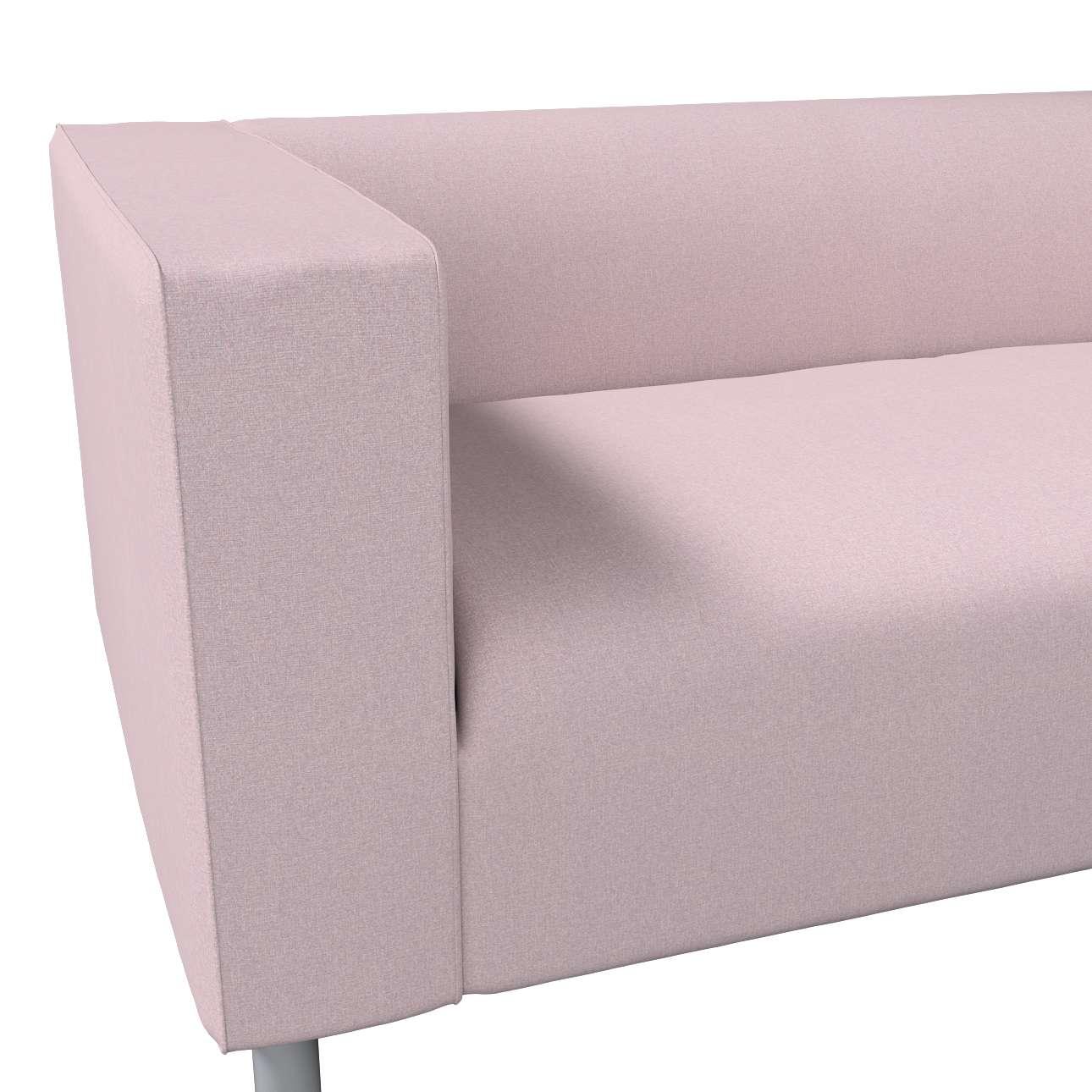 Pokrowiec na sofę Klippan 4-osobową w kolekcji Amsterdam, tkanina: 704-51
