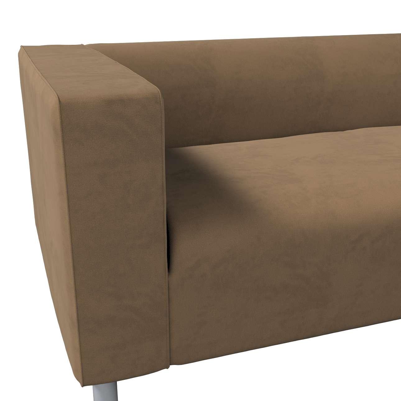 Pokrowiec na sofę Klippan 4-osobową w kolekcji Living, tkanina: 160-94