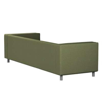 Pokrowiec na sofę Klippan 4-osobową 161-22 zielony melanż Kolekcja Madrid