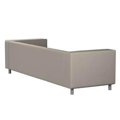 Pokrowiec na sofę Klippan 4-osobową 161-23 szaro-beżowy melanż Kolekcja Madrid