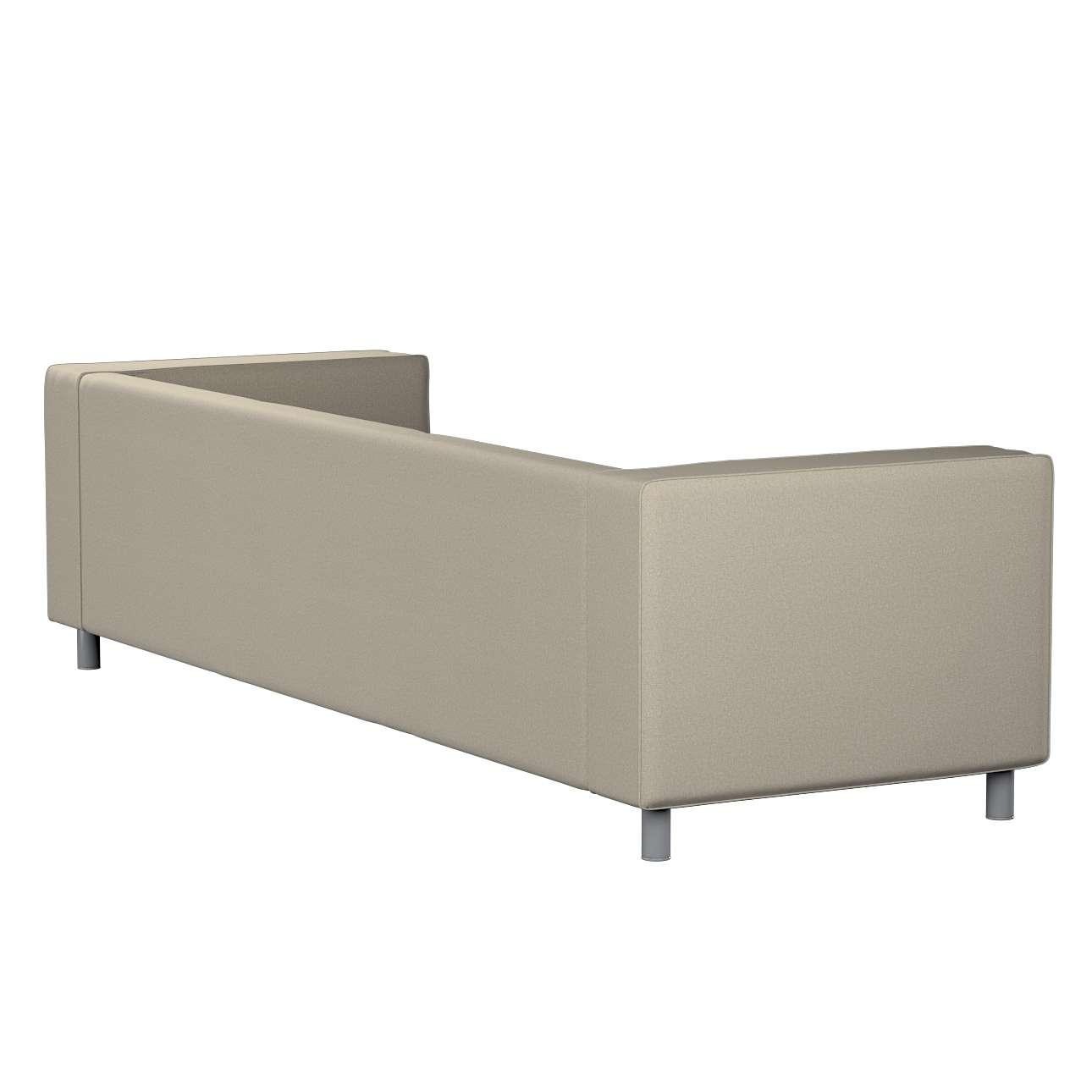 Pokrowiec na sofę Klippan 4-osobową w kolekcji Amsterdam, tkanina: 704-52