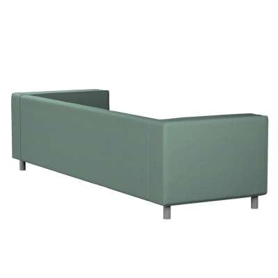 Pokrowiec na sofę Klippan 4-osobową 161-89 szara mięta melanż Kolekcja Madrid