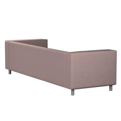 Pokrowiec na sofę Klippan 4-osobową 161-88 szaro - różowy melanż Kolekcja Madrid