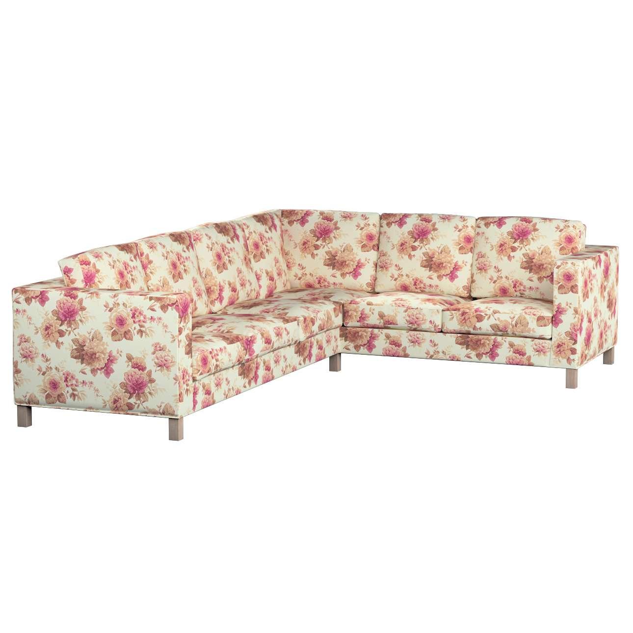 Pokrowiec na sofę narożną lewostronną Karlanda Sofa narożna lewostronna Karlanda w kolekcji Mirella, tkanina: 141-06