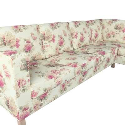 Pokrowiec na sofę narożną lewostronną Karlanda w kolekcji Londres, tkanina: 141-07
