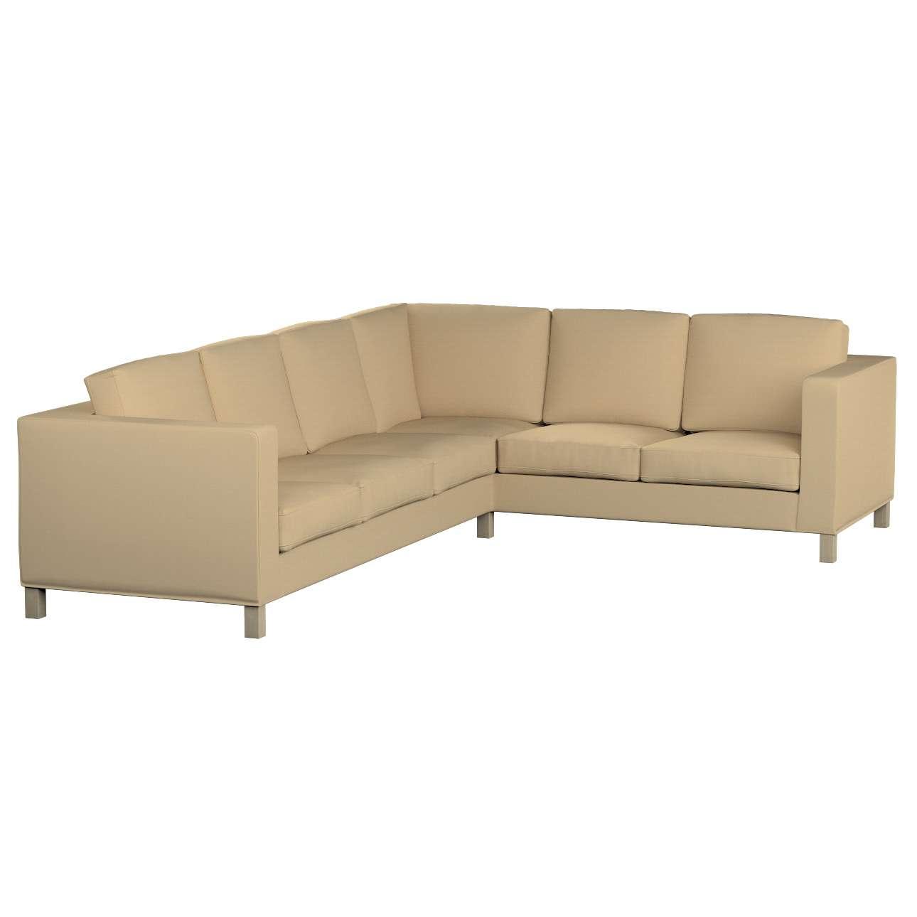 Pokrowiec na sofę narożną lewostronną Karlanda Sofa narożna lewostronna Karlanda w kolekcji Cotton Panama, tkanina: 702-01