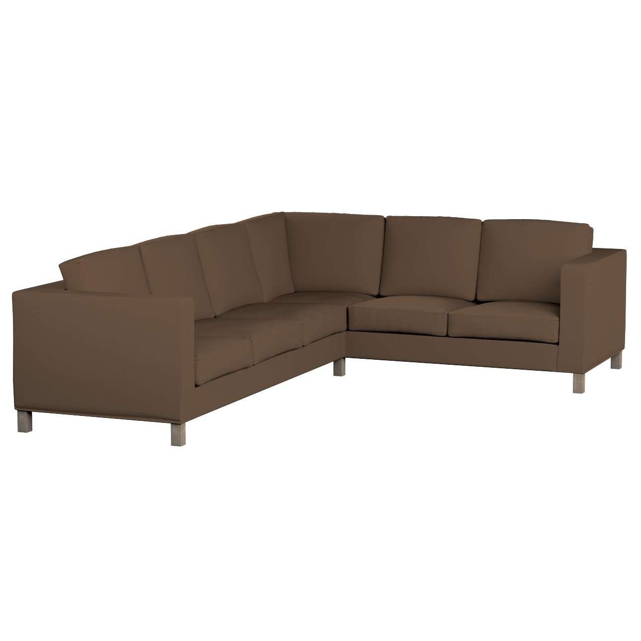 Pokrowiec na sofę narożną lewostronną Karlanda Sofa narożna lewostronna Karlanda w kolekcji Cotton Panama, tkanina: 702-02