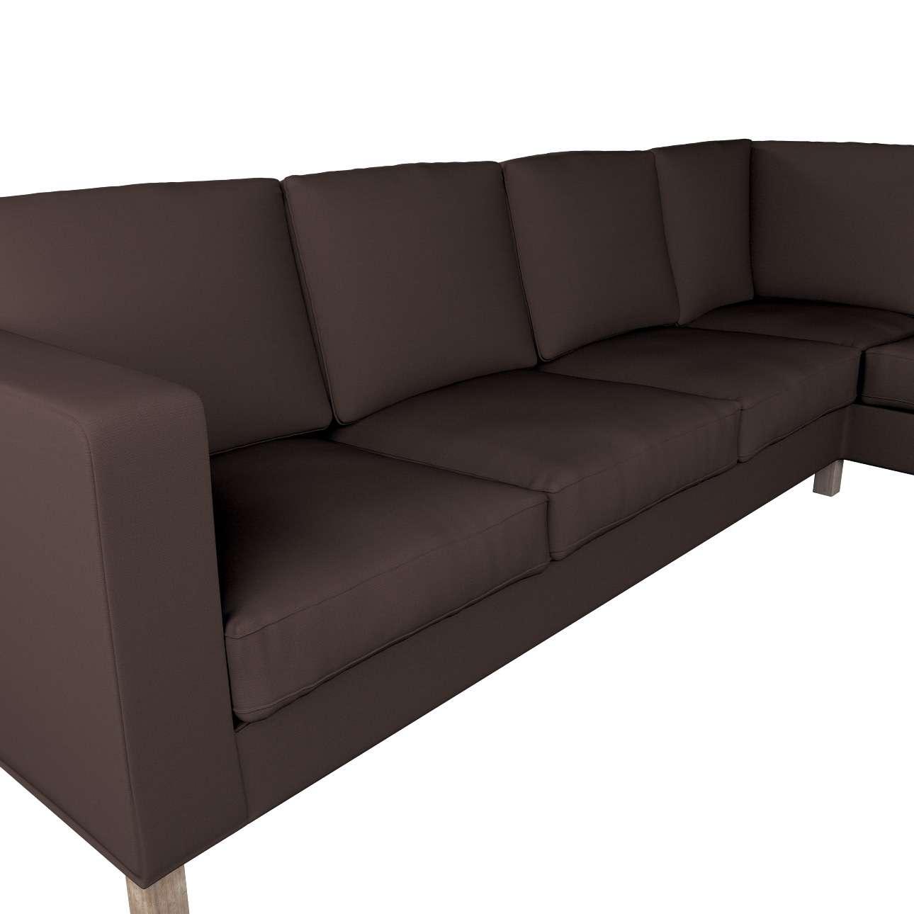 Pokrowiec na sofę narożną lewostronną Karlanda w kolekcji Cotton Panama, tkanina: 702-03