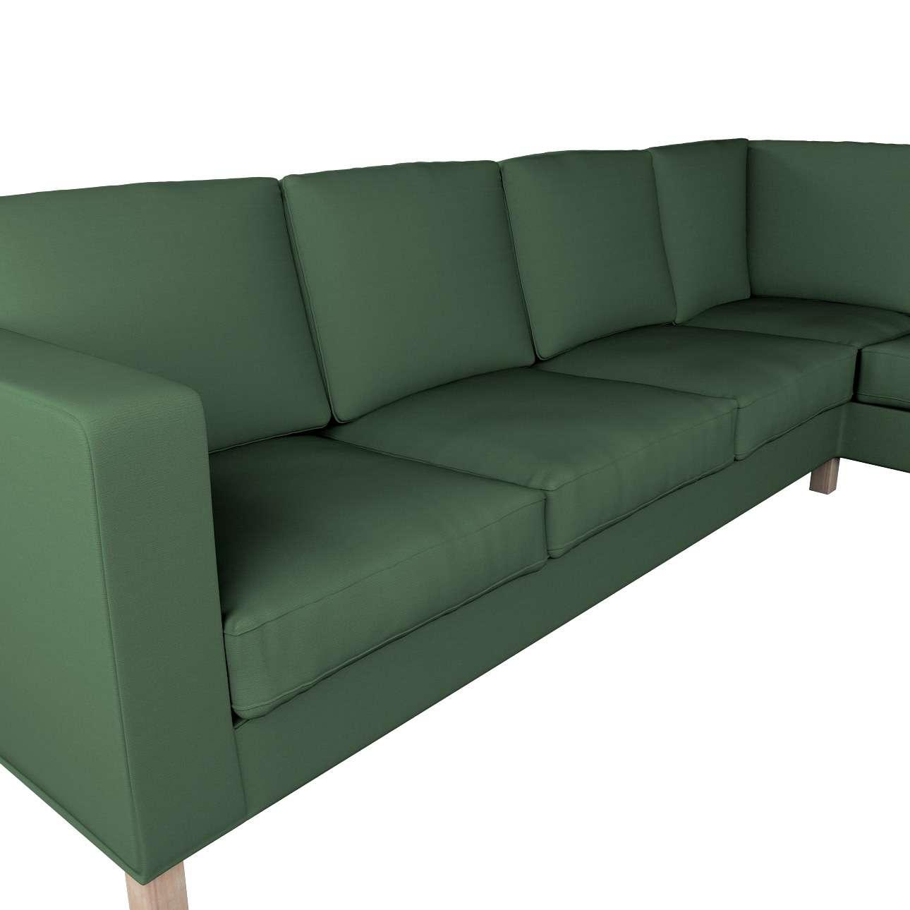 Pokrowiec na sofę narożną lewostronną Karlanda w kolekcji Cotton Panama, tkanina: 702-06