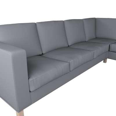 Pokrowiec na sofę narożną lewostronną Karlanda w kolekcji Cotton Panama, tkanina: 702-07