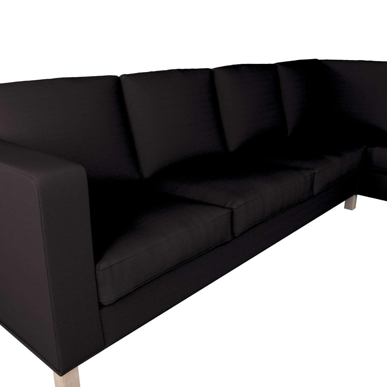Pokrowiec na sofę narożną lewostronną Karlanda w kolekcji Cotton Panama, tkanina: 702-08
