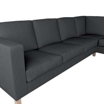 Pokrowiec na sofę narożną lewostronną Karlanda w kolekcji Chenille, tkanina: 702-20