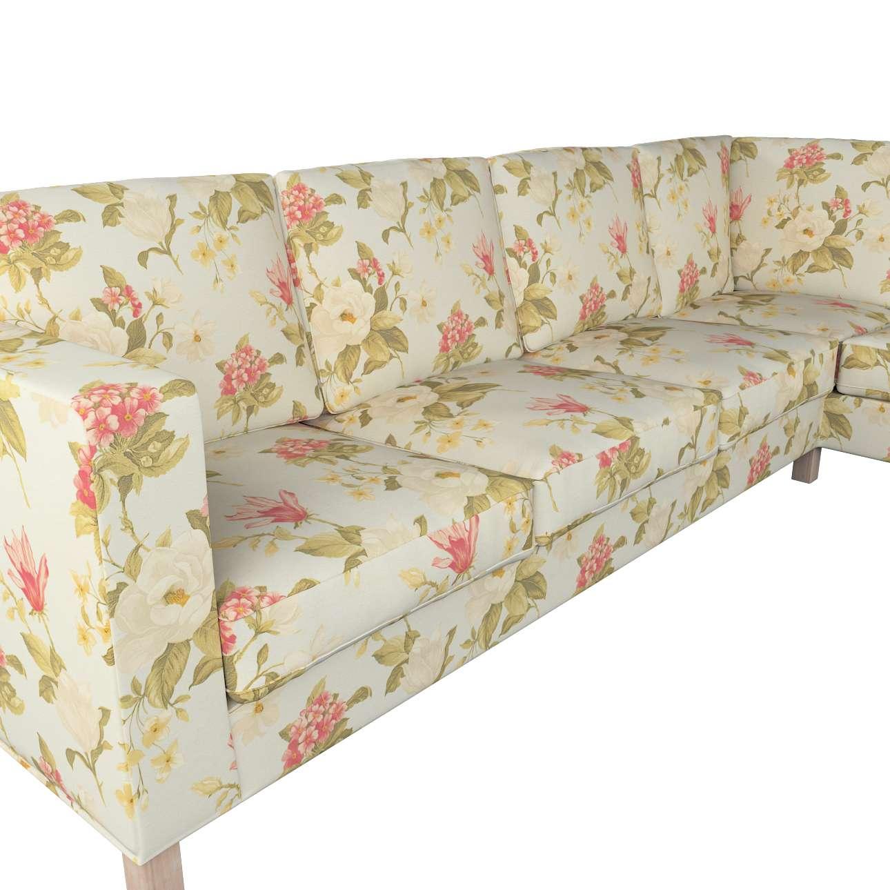 Pokrowiec na sofę narożną lewostronną Karlanda w kolekcji Londres, tkanina: 123-65