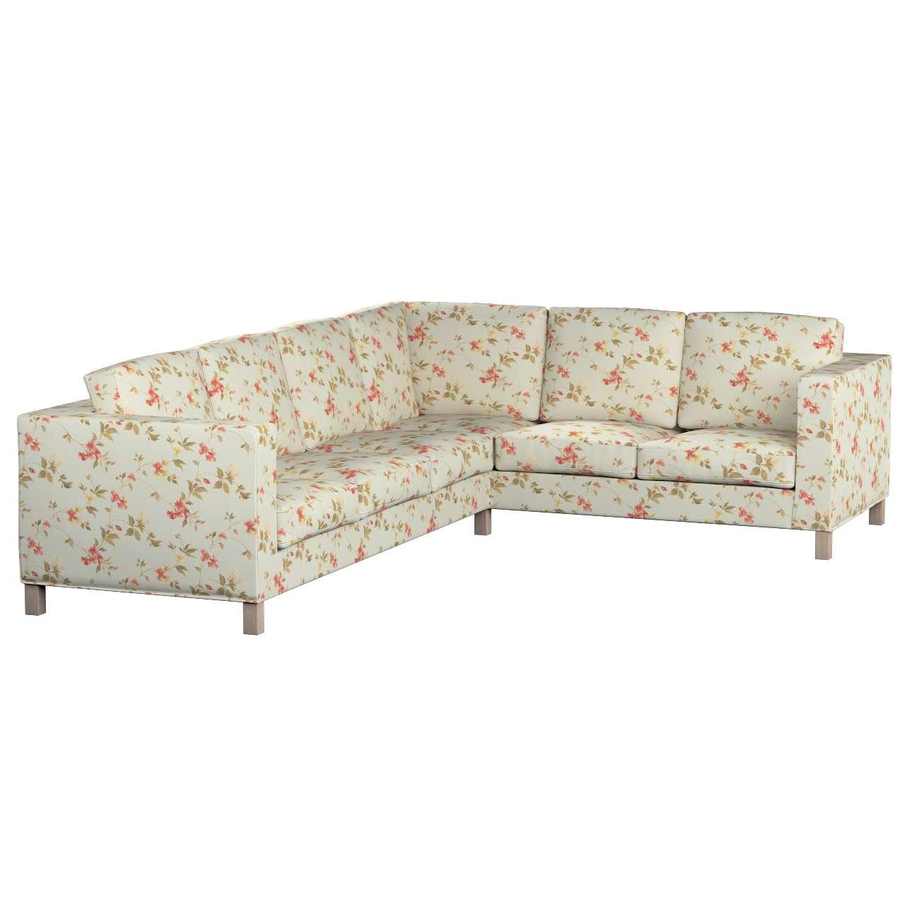 Pokrowiec na sofę narożną lewostronną Karlanda Sofa narożna lewostronna Karlanda w kolekcji Londres, tkanina: 124-65