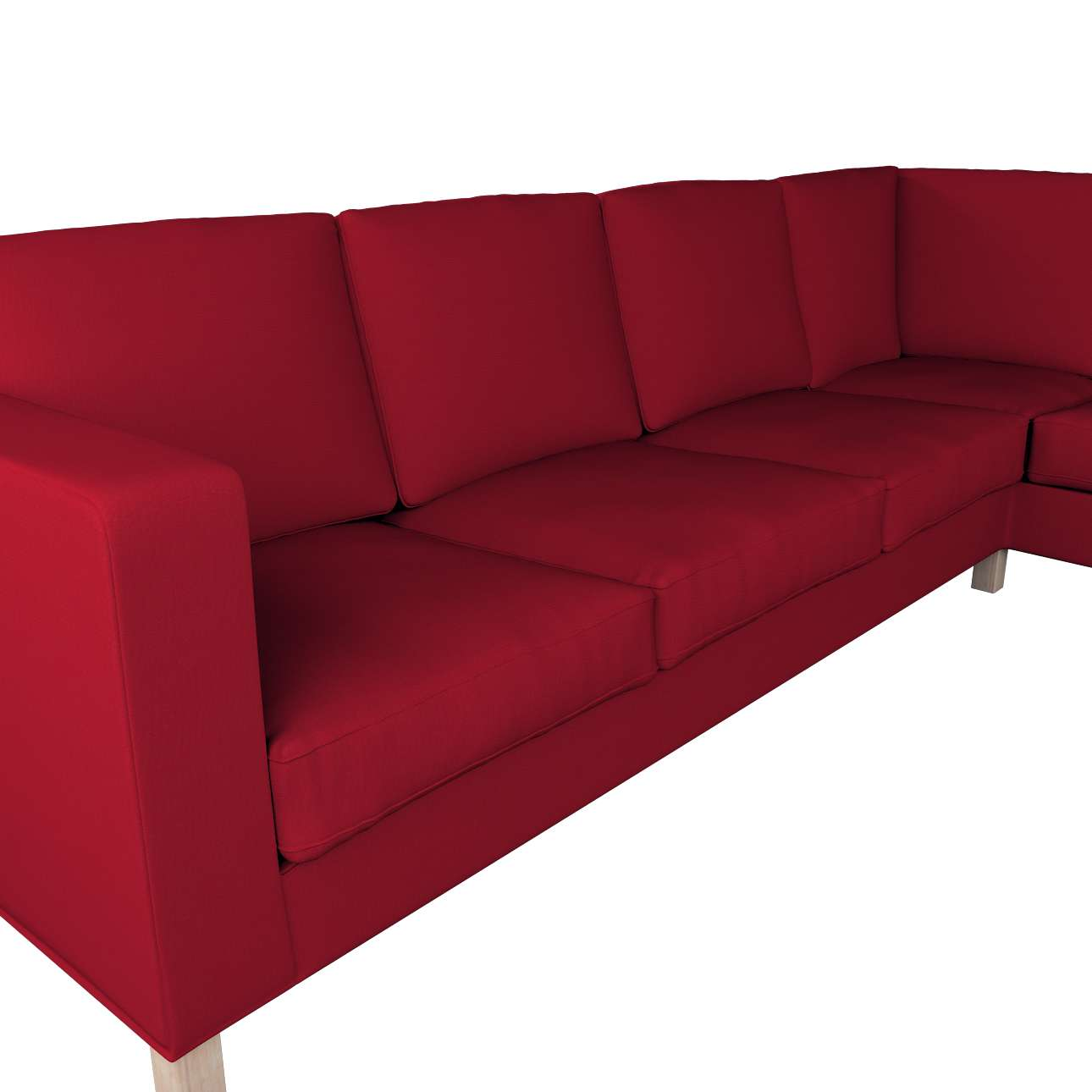 Pokrowiec na sofę narożną lewostronną Karlanda w kolekcji Etna, tkanina: 705-60