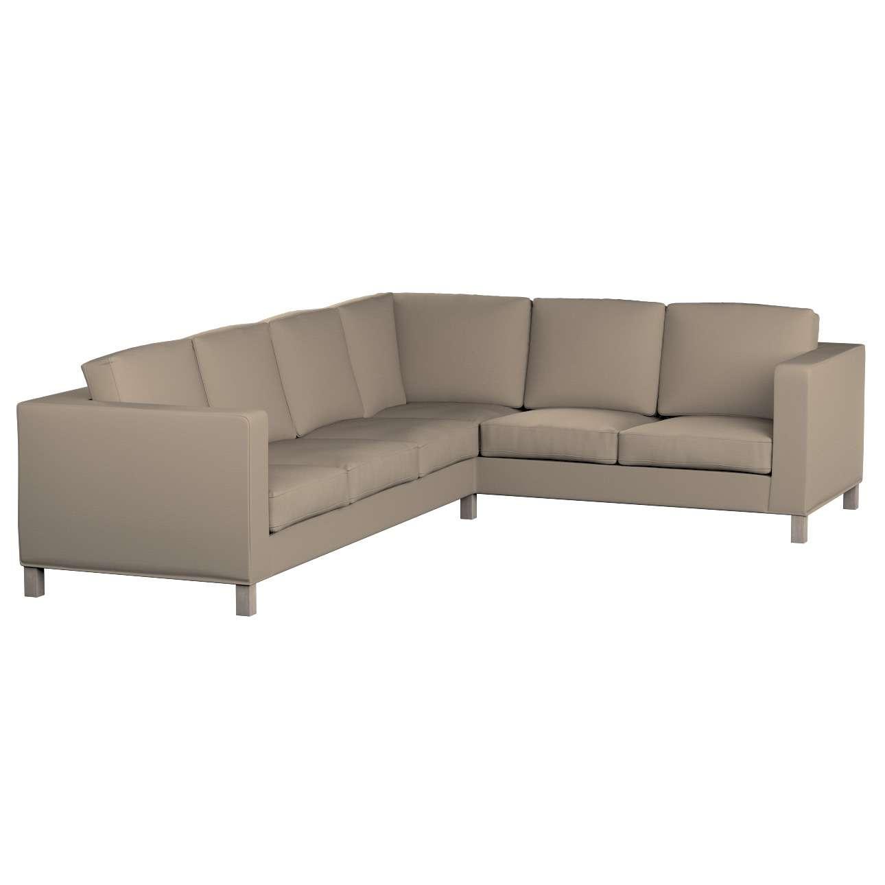Pokrowiec na sofę narożną lewostronną Karlanda w kolekcji Cotton Panama, tkanina: 702-28