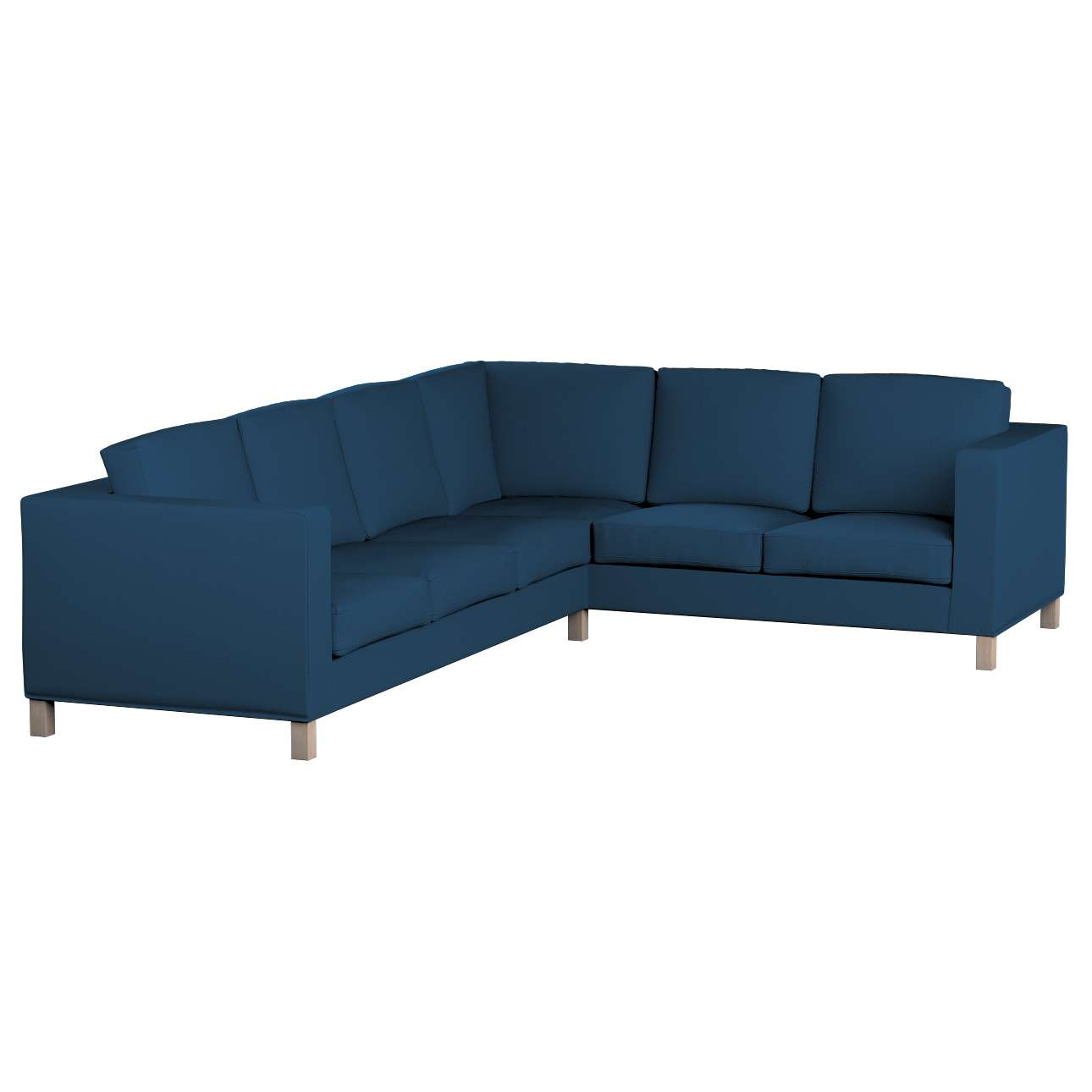 IKEA zitbankhoes/ overtrek voor Karlanda hoekbank links van de collectie Cotton Panama, Stof: 702-30