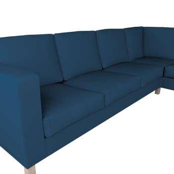 Pokrowiec na sofę narożną lewostronną Karlanda w kolekcji Cotton Panama, tkanina: 702-30