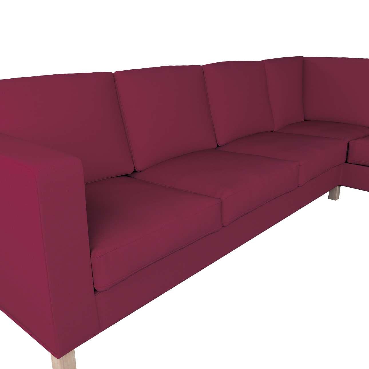 Pokrowiec na sofę narożną lewostronną Karlanda w kolekcji Cotton Panama, tkanina: 702-32
