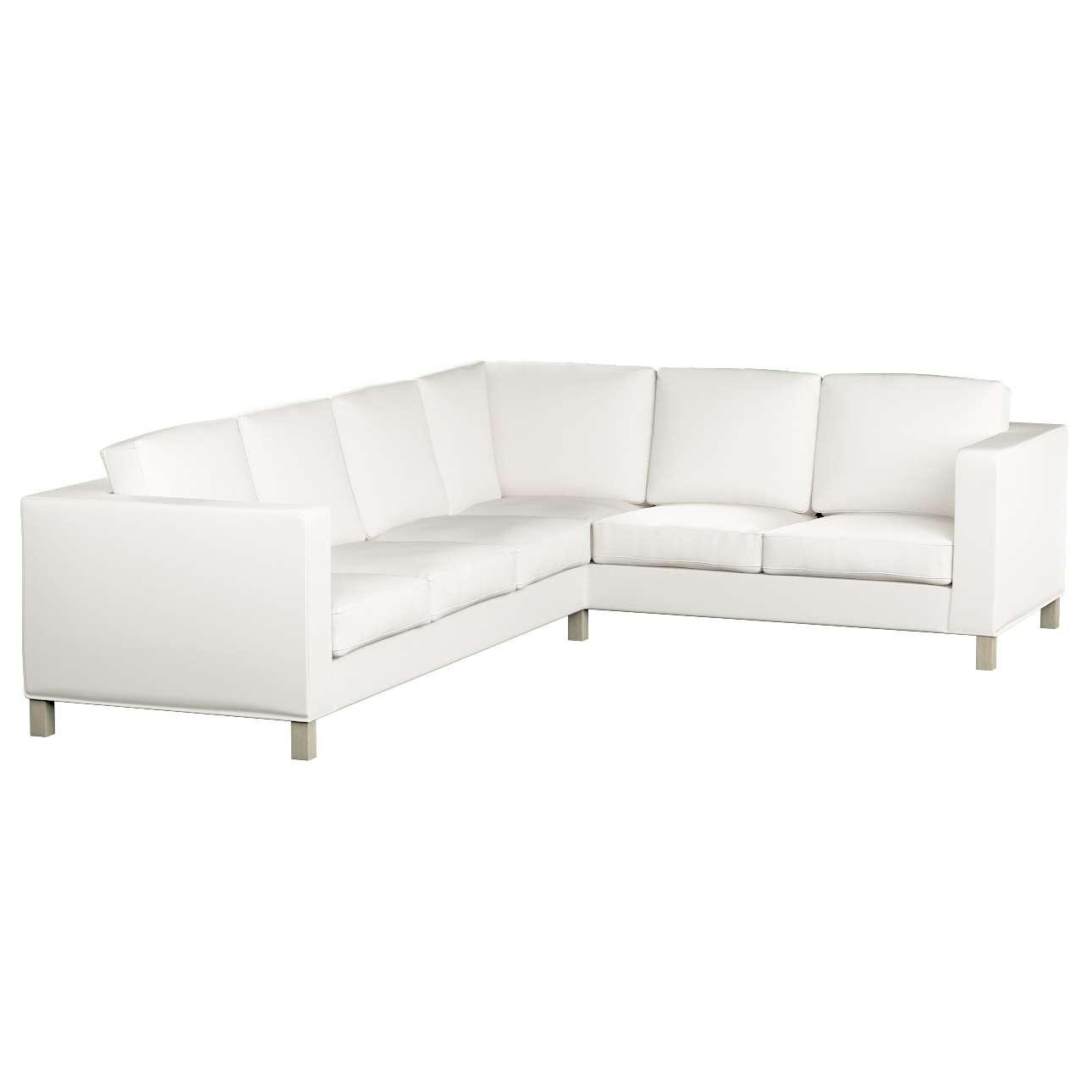 Pokrowiec na sofę narożną lewostronną Karlanda Sofa narożna lewostronna Karlanda w kolekcji Cotton Panama, tkanina: 702-34