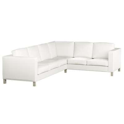 Karlanda Sofabezug Ecke links von der Kollektion Cotton Panama, Stoff: 702-34