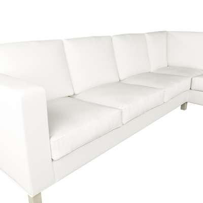 Pokrowiec na sofę narożną lewostronną Karlanda w kolekcji Cotton Panama, tkanina: 702-34