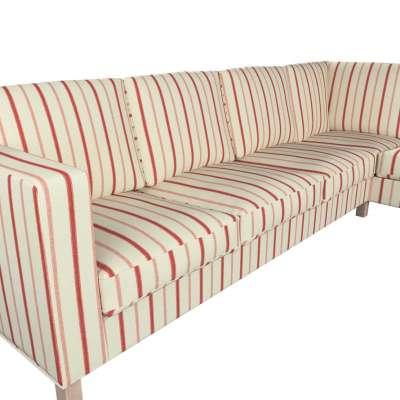 Pokrowiec na sofę narożną lewostronną Karlanda w kolekcji Avinon, tkanina: 129-15