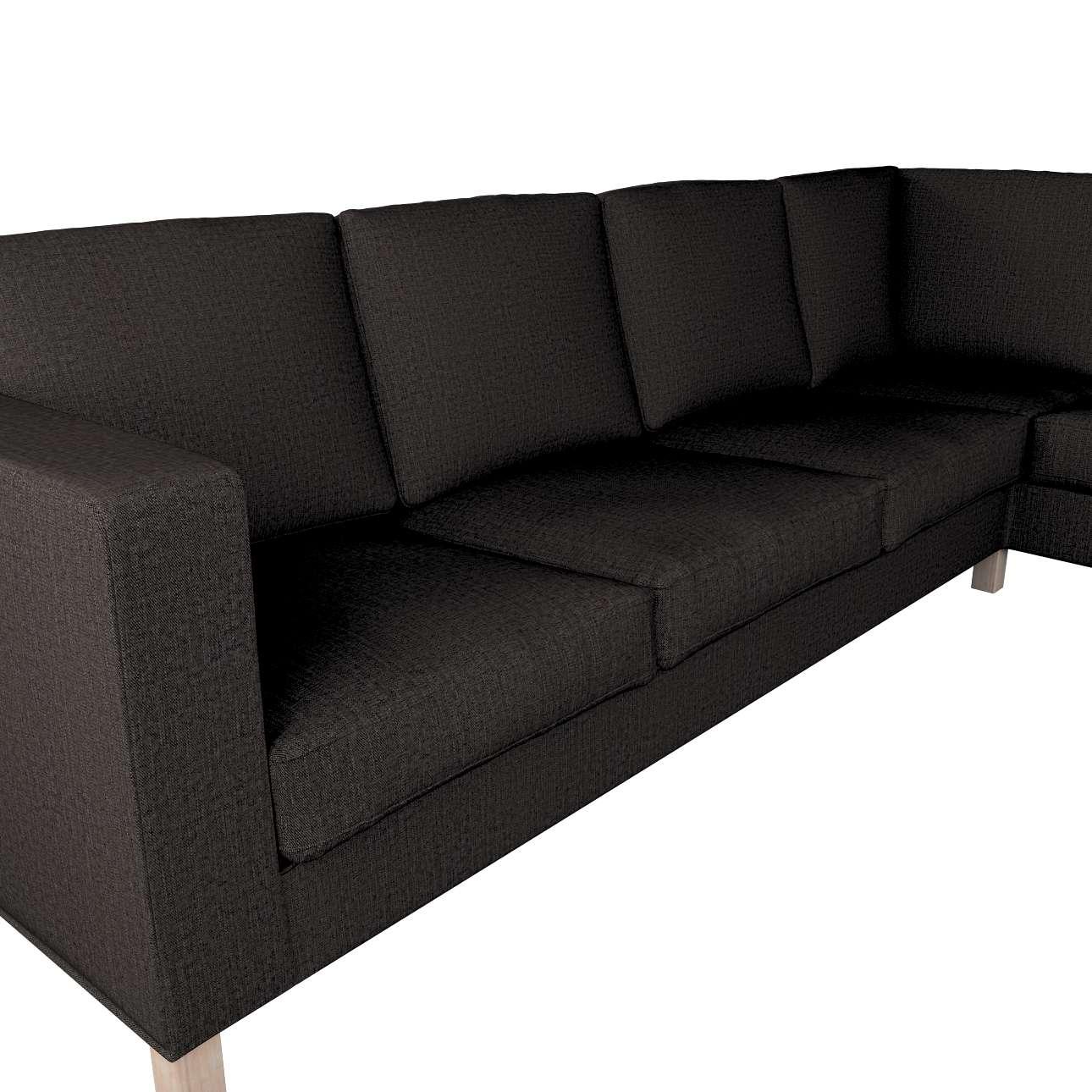 Pokrowiec na sofę narożną lewostronną Karlanda w kolekcji Etna, tkanina: 702-36
