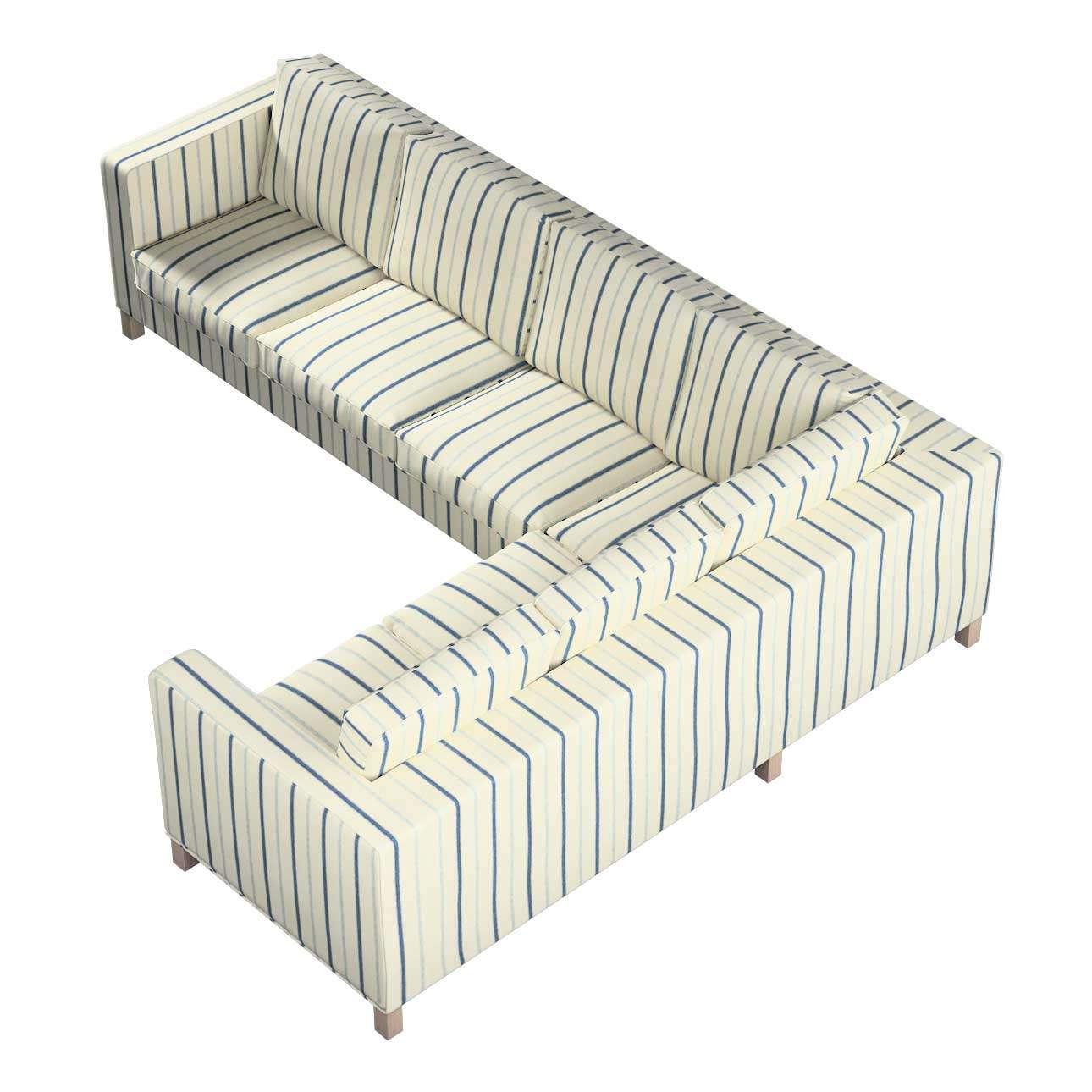 Pokrowiec na sofę narożną lewostronną Karlanda w kolekcji Avinon, tkanina: 129-66