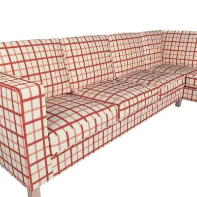Pokrowiec na sofę narożną lewostronną Karlanda w kolekcji Avinon, tkanina: 131-15