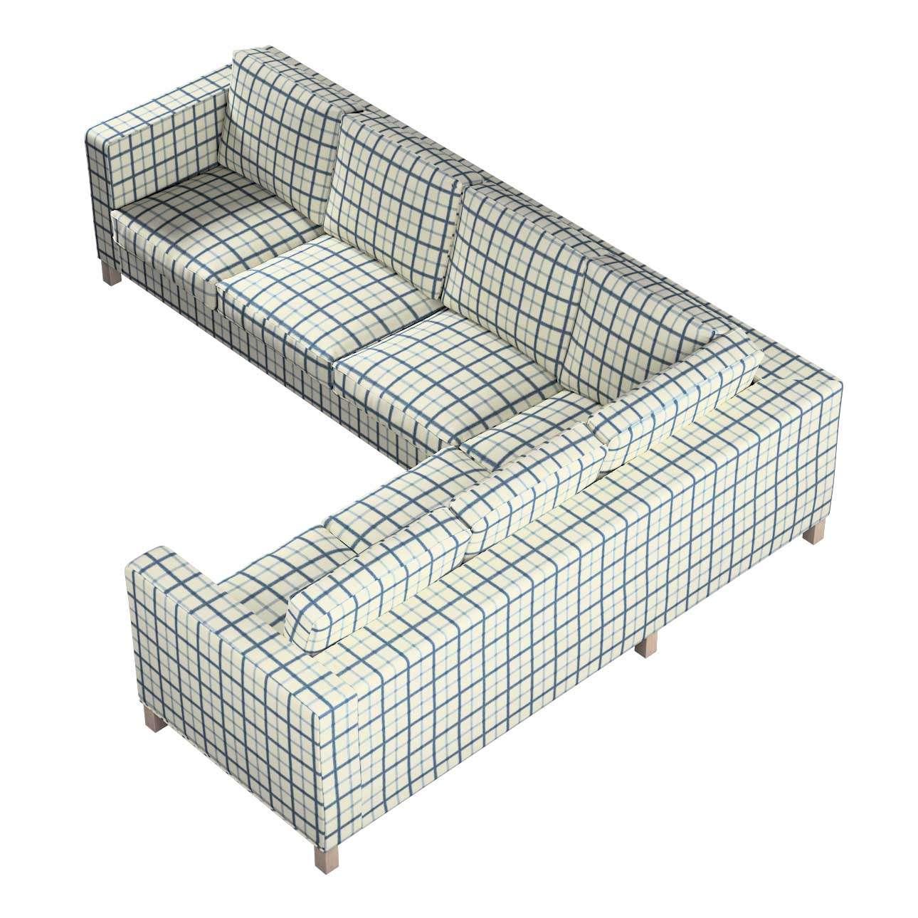 Pokrowiec na sofę narożną lewostronną Karlanda w kolekcji Avinon, tkanina: 131-66