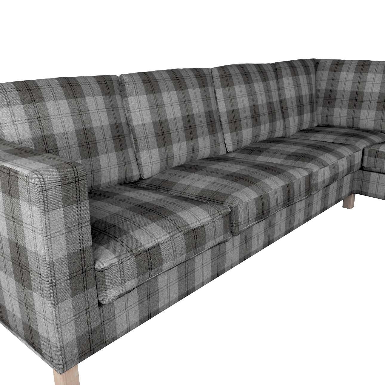 Pokrowiec na sofę narożną lewostronną Karlanda w kolekcji Edinburgh, tkanina: 115-75