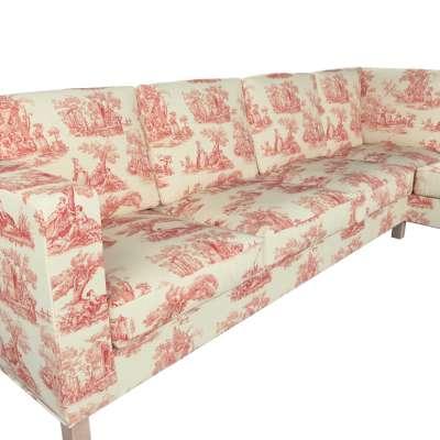 Pokrowiec na sofę narożną lewostronną Karlanda w kolekcji Avinon, tkanina: 132-15
