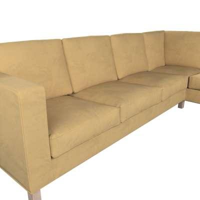 Pokrowiec na sofę narożną lewostronną Karlanda w kolekcji Living, tkanina: 160-93