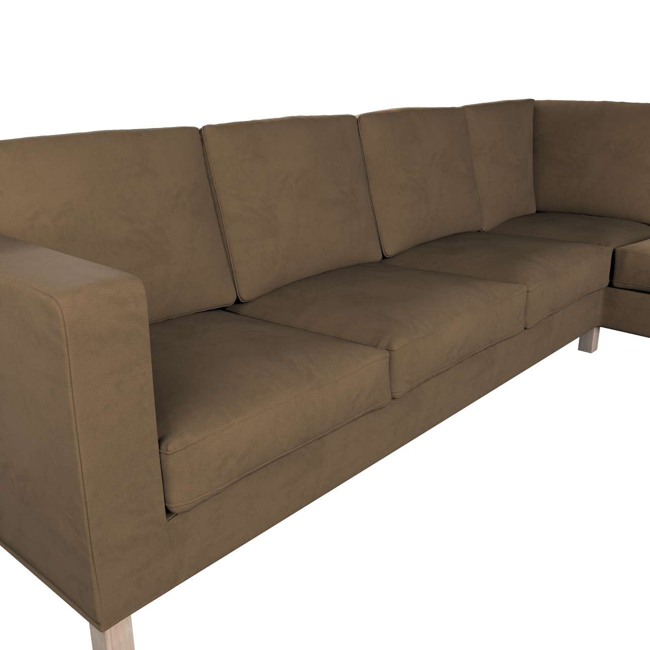 Pokrowiec na sofę narożną lewostronną Karlanda w kolekcji Living II, tkanina: 160-94
