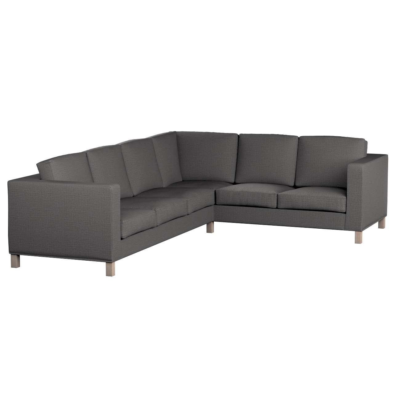 Pokrowiec na sofę narożną lewostronną Karlanda w kolekcji Living II, tkanina: 161-16
