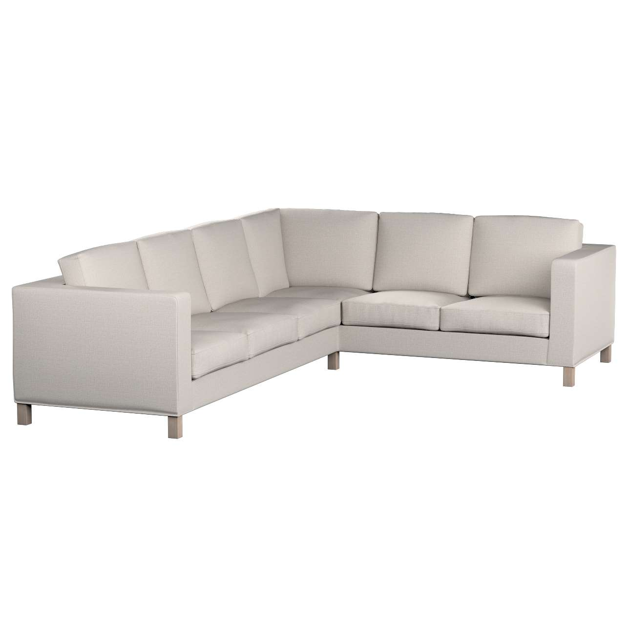 Pokrowiec na sofę narożną lewostronną Karlanda w kolekcji Living II, tkanina: 161-00