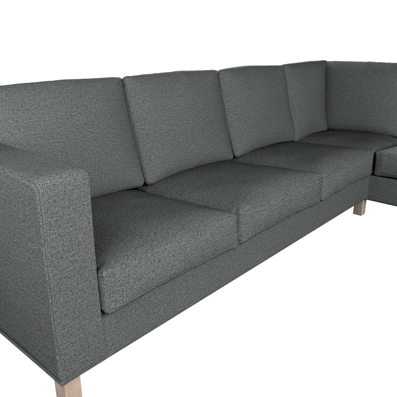 Pokrowiec na sofę narożną lewostronną Karlanda w kolekcji Madrid, tkanina: 161-24