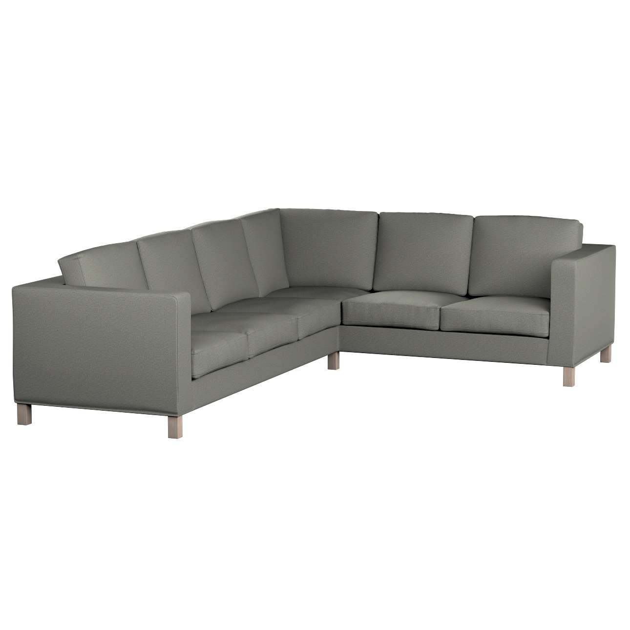 Pokrowiec na sofę narożną lewostronną Karlanda w kolekcji Etna, tkanina: 161-25