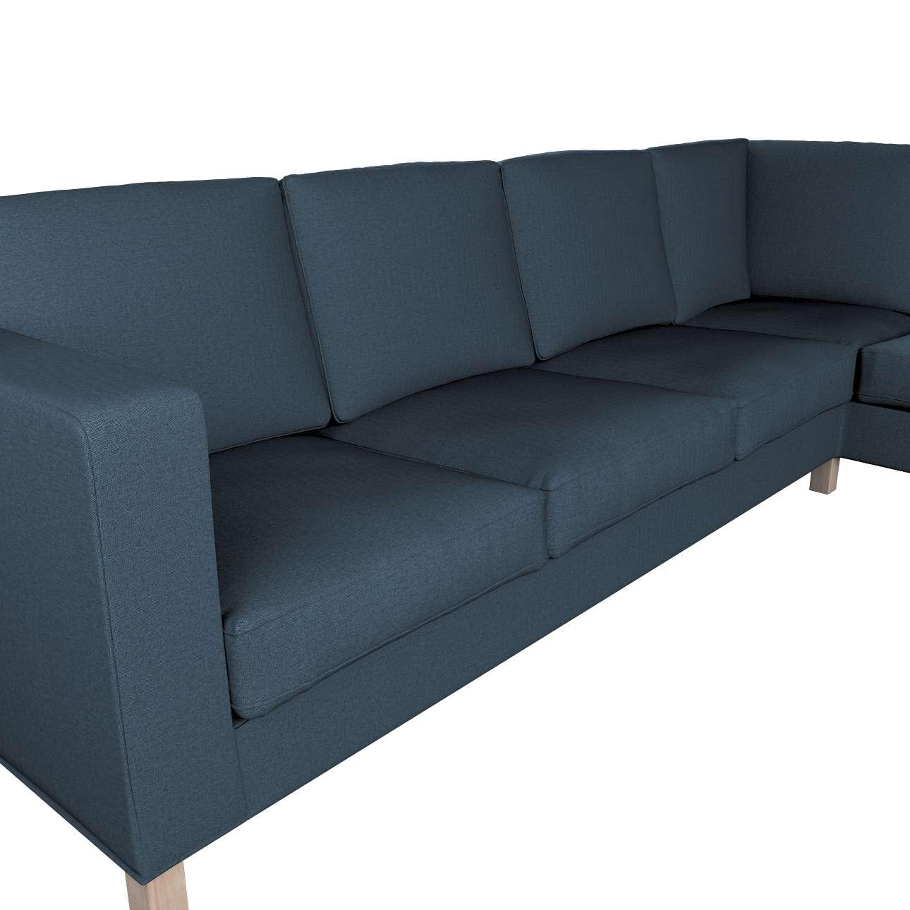 Pokrowiec na sofę narożną lewostronną Karlanda w kolekcji Etna, tkanina: 705-30