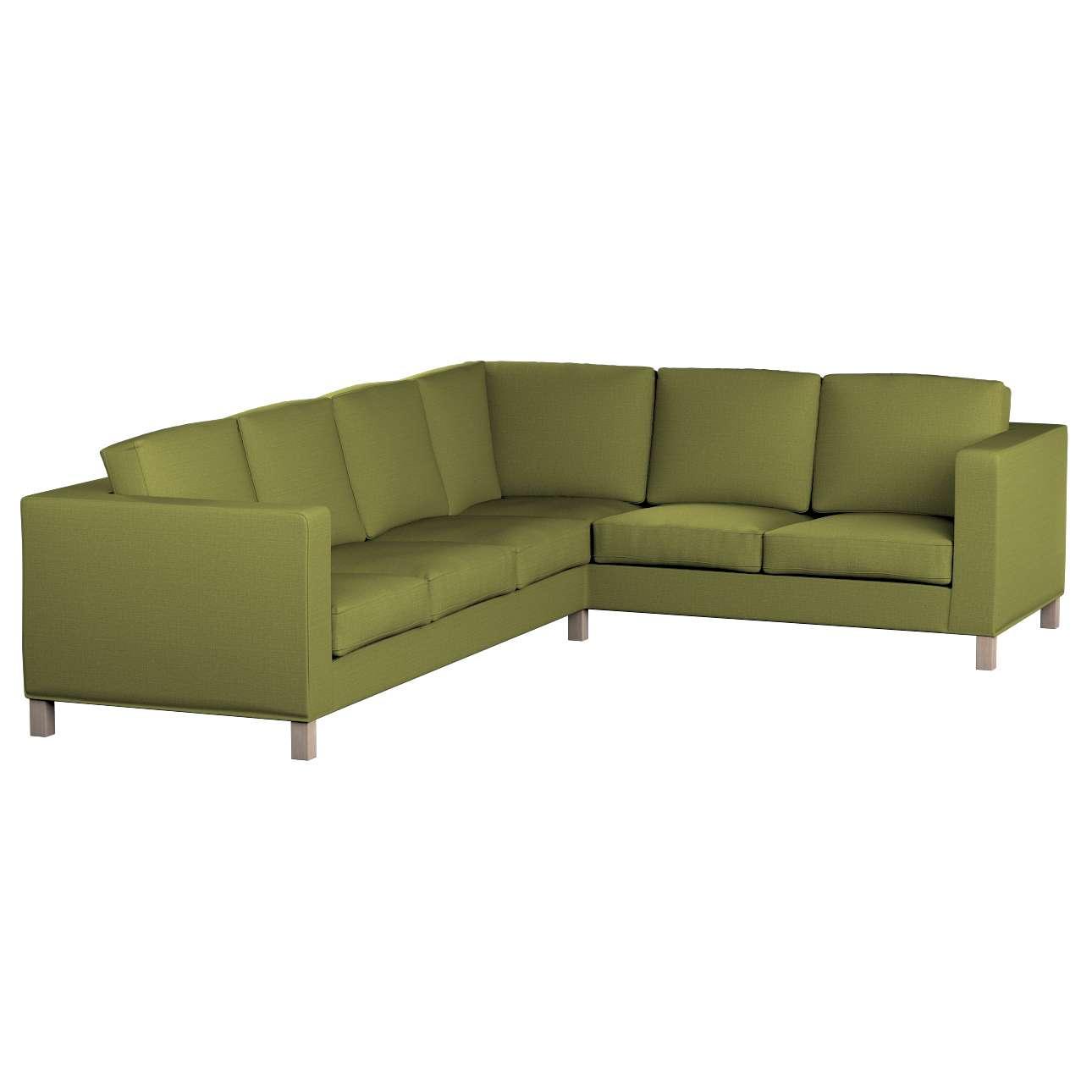 Pokrowiec na sofę narożną lewostronną Karlanda w kolekcji Living, tkanina: 161-13