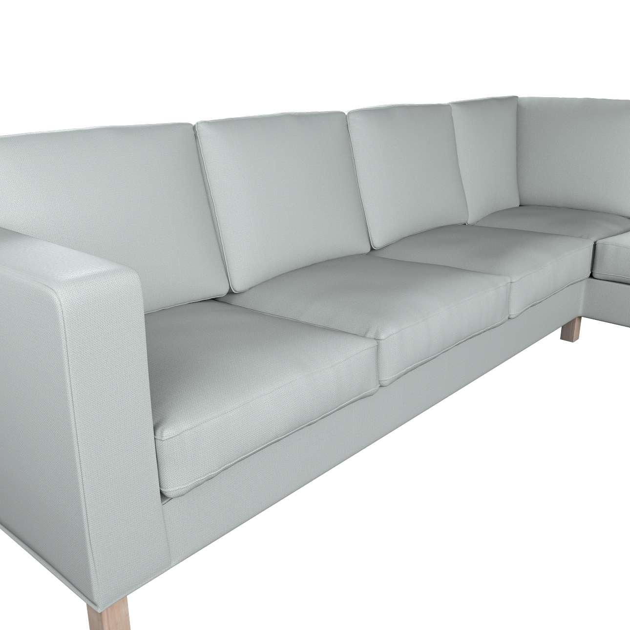 Pokrowiec na sofę narożną lewostronną Karlanda w kolekcji Bergen, tkanina: 161-72